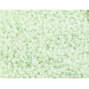 Seedbead Opaque Dyed Pearl Green 10/0